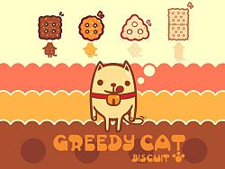 《喂食猫》卡通形象设计