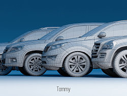 """Tommy""""私家车展""""2010-2011"""