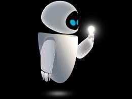 机器人总动员临摹