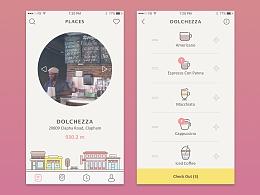 UI临摹-Coffee app