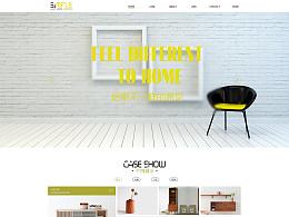 网页设计/网站设计/家具网页/网站界面设计/网站首页设计/UI网页设计/家居网页/网页制作