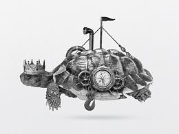 龟肉包装设计