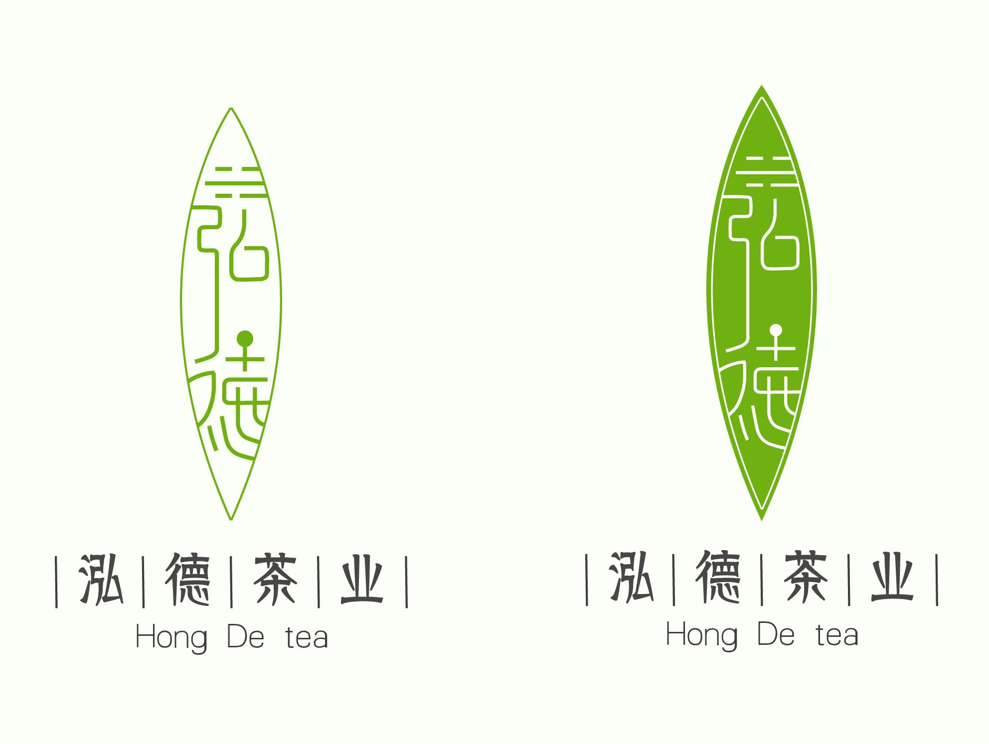 中国风茶叶logo设计图片