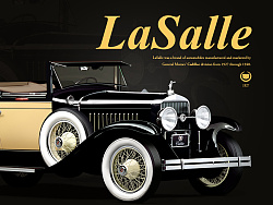 写实老爷车,PS绘制图标-LaSalle