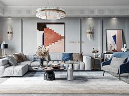 现代·轻奢客厅