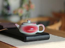 原创手工推荐 器世界精品钧瓷茶具茶道 白胜利钧瓷作品 钧瓷茶壶鉴赏(一)