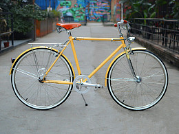 TSUNAMI速那米内三速变速复古自行车