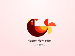 鸡年到了,happy new year!