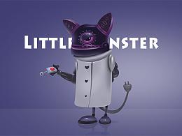 鼠绘练习奇葩小怪兽