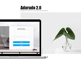 Adorado2.0界面设计