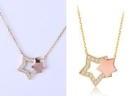 珠宝摄影 珠宝修图 项链
