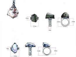 做过的一些首饰设计