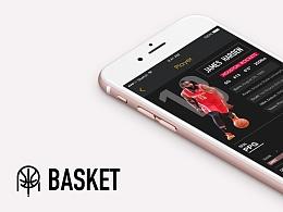 BASKET—nba资讯类app设计视觉方案