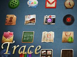 《360首届手机主题设计大赛》-Trace生活的痕迹