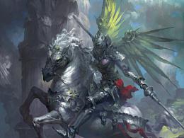 元素动力冯伟新作-骑士