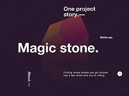 Magic stone App