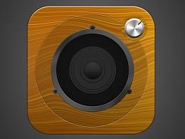 木质音响icon