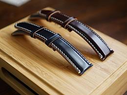 马臀皮纯手工手表带