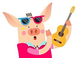 小猪猪表情
