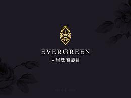 【EVERGREEN】大树珠宝设计 创意品牌形象