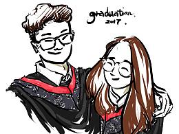 毕业快乐~~