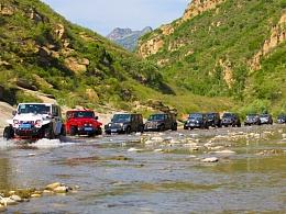 京郊白河川穿越一日游