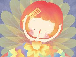 《春天》儿童绘本插画