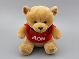 产品拍摄样片——MUFC泰迪熊