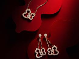 Qeelin Double Wulu系列珠宝