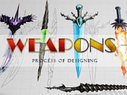 Weapons UI Design - 亡灵游戏武器图标