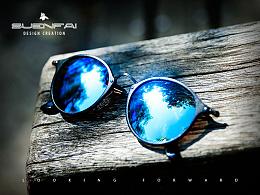 #战地吉普眼镜户外太阳镜场景拍摄后期修图