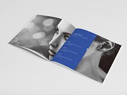 产品画册 宣传画册 公司画册 大气简约画册 蓝色画册