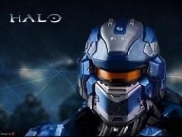 PS绘制《HALO》头盔