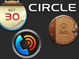 Ophone主题设计大赛参赛作品-Circle
