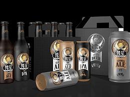 奥格光年作品案例分享:《夜梵》精酿啤酒品牌策略&设计
