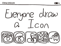 Everyone draw a Icon
