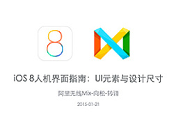 iOS 8人机界面指南:UI元素与设计尺寸