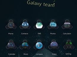 手机主题--银河战队