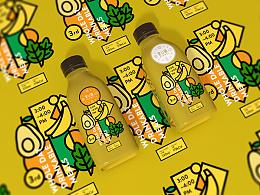 《爱U味》轻体代餐品牌包装设计