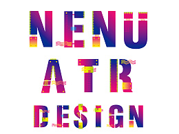 helvitca字体装饰设计