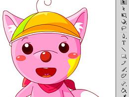 星星狐QQ表情设计