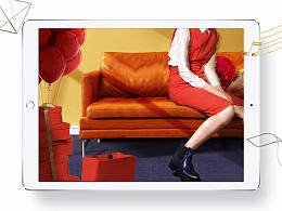 卡美多女鞋活动页面制作