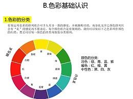 B.色彩基本认识