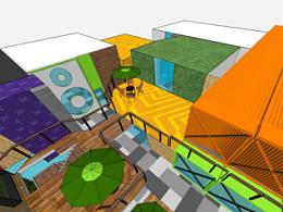 嘻哈帮街舞 曼哈顿 loft空间设计