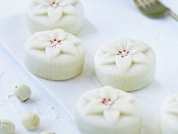 莲子百合饼