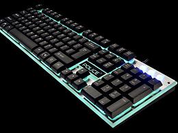 键盘鼠标包装拍摄