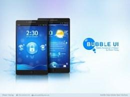 BubbleStyleUI概念设计