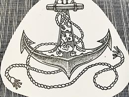 海员纹身图案设计·锚