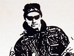 臧金龙索契冬奥会主题钢笔画作品《冬奥风采》