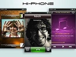 Hi-Phone智能手机界面方案